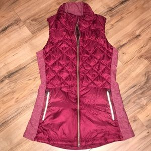 Lululemon Down For a Run Vest Size 4